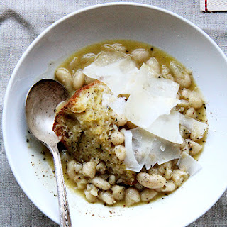 Marcella Hazan's White Beans with Garlic and Sage.