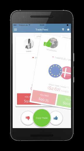 SwipeStox - Social Trading