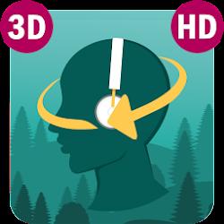 Sleep Orbit: Relaxing 3D Sounds, White Noise & Fan