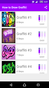 Learn How to Draw Graffiti - náhled