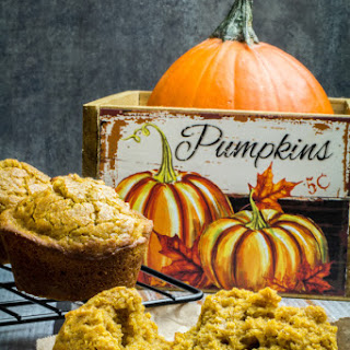 Gluten Free Pumpkin Muffins.