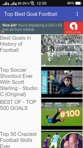 Top Best Goals Football