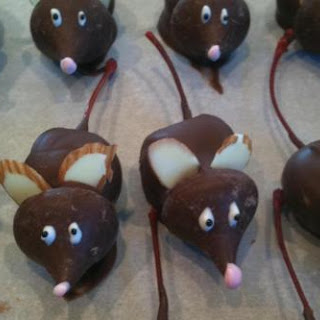 Chocolate Covered Cherry Mice