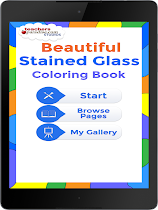 Stained Glass Coloring Book - screenshot thumbnail 07
