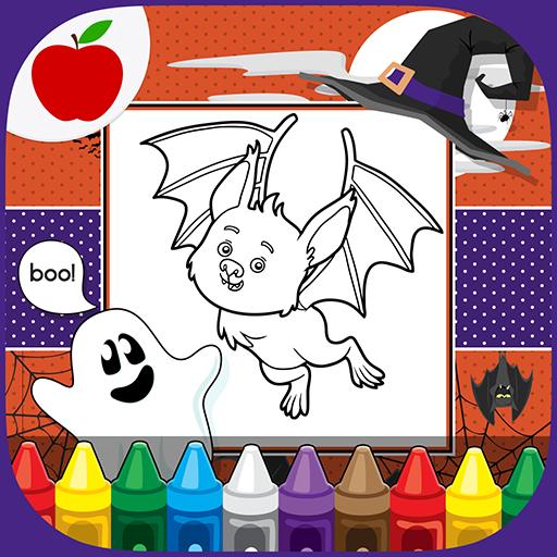 Kids Painting: Halloween Games 教育 App LOGO-硬是要APP