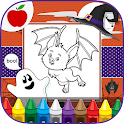 Kids Painting: Halloween Games icon
