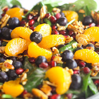 Mandarin Spinach Salad with Candied Pecans Recipe