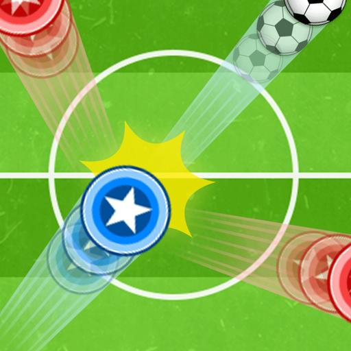 ピンボールサッカーバトル!無料物理パズルのサッカーストライク 體育競技 App LOGO-硬是要APP