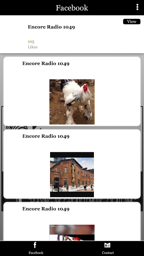 KWSP Encore Radio- screenshot