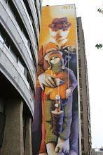 Photo: Street art - Inti -Paris XIIIe - 129 avenue d'Italie