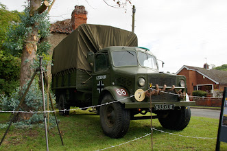 Photo: Bedford Truck in German Livery