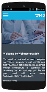 Web Master App- screenshot thumbnail