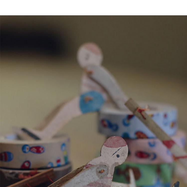 KOKESHI set (3pcs bundle)