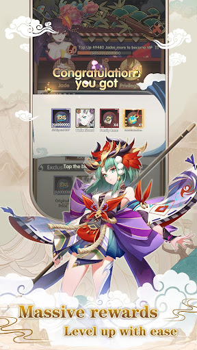 Idle Onmyoji: Japanese Fantasy RPG  screenshots 6