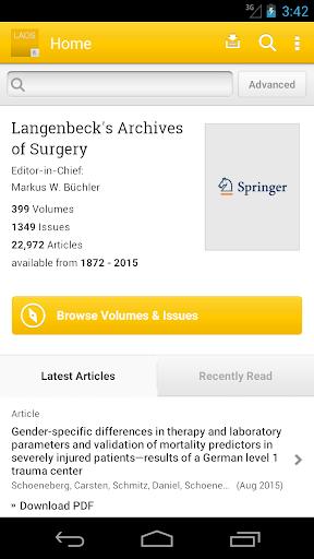 Langenbeck's Arch. of Surgery
