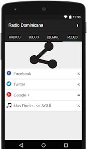 Radio Dominicana screenshot 3