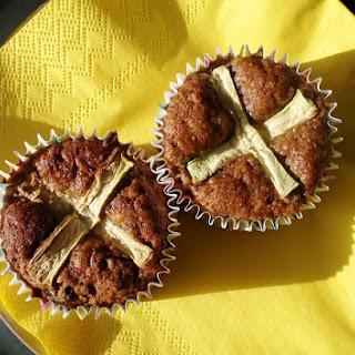 Grain Free Hot Cross Carrot Muffins GF SCD