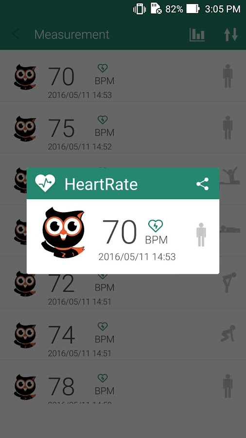 ASUS Remote Heart Rate- screenshot