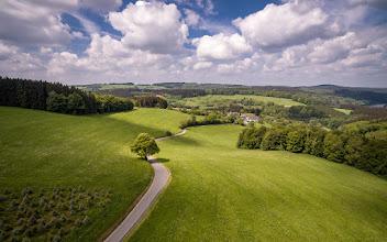 Photo: Grünes #Sauerland  - #Green Sauerland region in western #Germany  - #luftbild #aerialphotography #aerial #road #landscapephotography #landscape #tree #Baum #Grün #Lüdenscheid #Phantom3pro