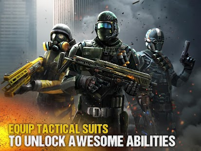 Modern Combat 5: eSports FPS 3.1.1b (God Mode) Apk + Data