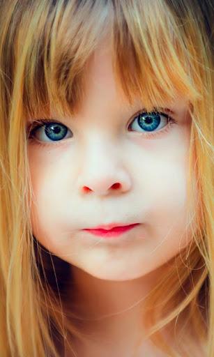 蓝色的眼睛 live wallpaper