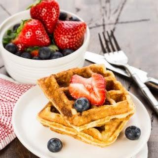Buttermilk Ricotta Waffles Recipe