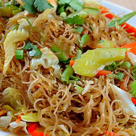 Vegan Pancit Bihon Noodles