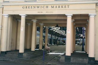 Photo: The Greenwich vegetable market, home to Electrosonic's first office.