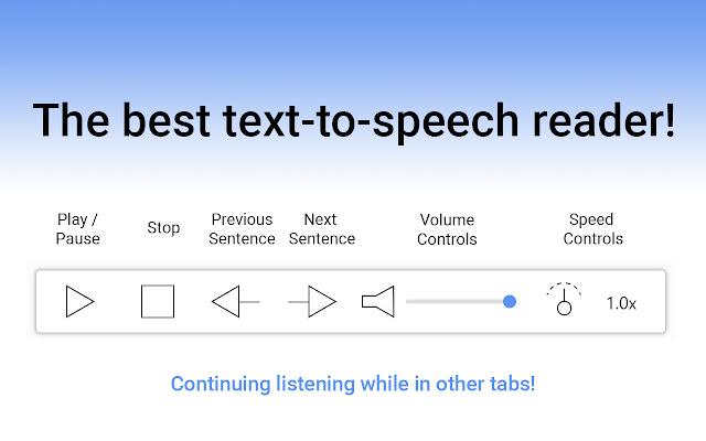 Reedr — Text-to-speech