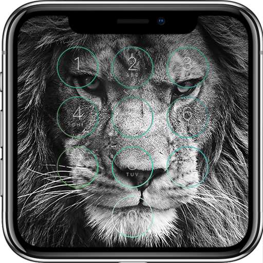 Lion Lock Screen