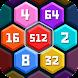 ヘキサパズル – 数字をマージして7を取得 - Androidアプリ