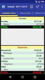 MoBill Budget and Reminder Screenshot 4
