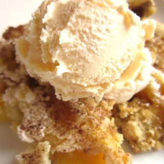Peach Cobbler Dump Cake.