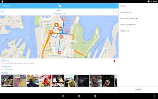 Screenshot of WunderWalk explore any city