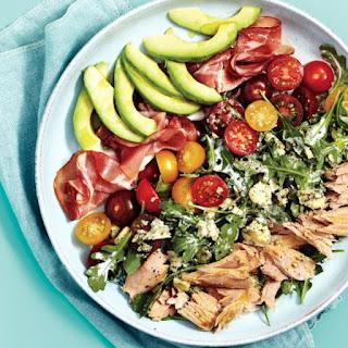 Modern Tuna-cobb Salad.