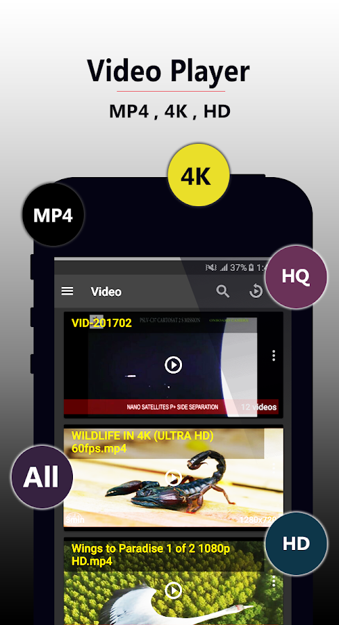 Video Player HD- screenshot