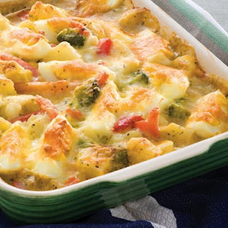 Creamy Cheese Vegetable Bake Recipes