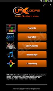 uFXloops Music Studio 8