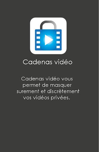 Cadenas vidéo - Vidéos Masquer screenshot 1