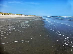 Photo: der Strand ist total leer