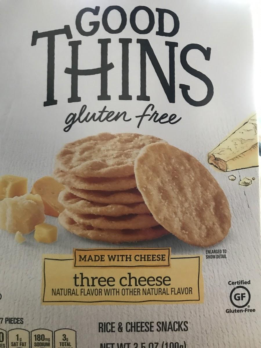 Three Cheese Crackers
