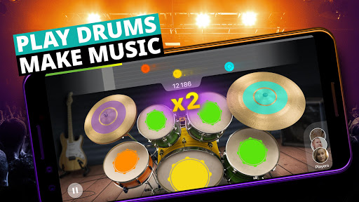 Drum Set Music Games & Drums Kit Simulator 3.24.0 screenshots 1
