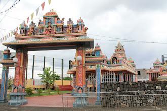Photo: Tamil? temple, Port Louis