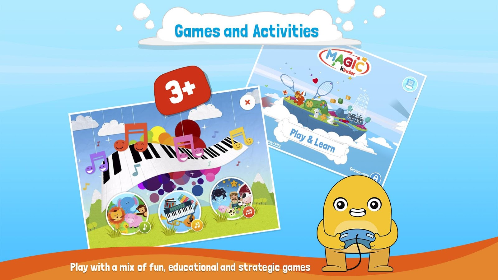 Magic kinder official app free kids games android apps on google play - Kinderapps gratis ...