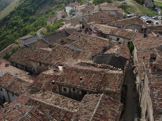 Tetti del borgo  S.Stefano di Sessanio di ileana