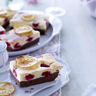 Lemon and Raspberry Bars.