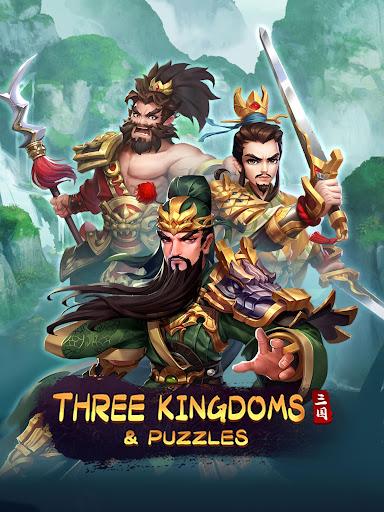 Three Kingdoms & Puzzles: Match 3 RPG 1.5.0 screenshots 10