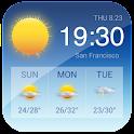 Widget météo à 7 jours France icon