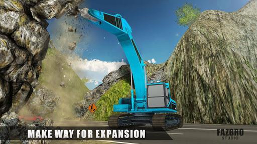 Heavy Excavator Rock Mining Stone Cutter Simulator 4.2 screenshots 3