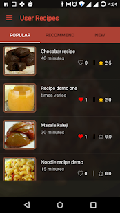 Master Recipes- screenshot thumbnail
